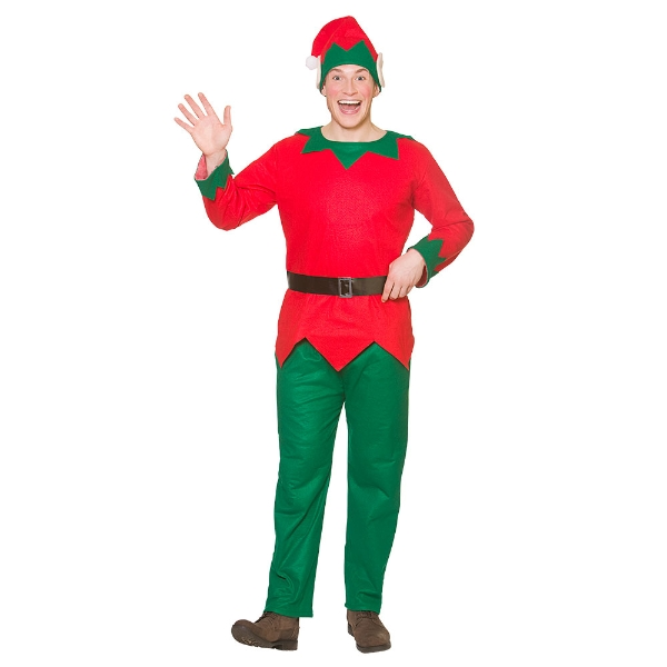 Christmas Elf Costume.Adult Christmas Elf Costume O